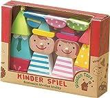 キッズギフト木製玩具 丸和貿易 キンダーシュピール ハッピーセット くるま 400645104