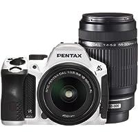 PENTAX デジタル一眼レフカメラ K-30 ダブルズームキット [DAL18-55mm・DAL55-300mm] クリスタルホワイト K-30WZK C-WH 15694