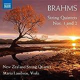 ブラームス:弦楽五重奏曲 第1番&第2番