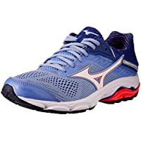 Mizuno Australia Women's Wave Inspire 15 Running Shoes, Grapemist/White/Fiery Coral