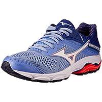 Mizuno Australia Women's Wave Inspire 15 Running Shoes, Grapemist/White/Fiery Coral