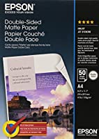 Epson Double-Sided Matte Paper - Two-sided matte paper - A4 (210 x 297 mm) - 178 g/m2-50 sheet(s)