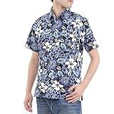[OKI(オキ)] アロハシャツ メンズ レディース ユニセックス かりゆしウェア ハイビスカス