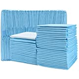 Timoo 100 PCS Disposable Changing Pad Leak-Proof Underpad Bed Table Protector Mat, Soft Non-Woven Fabric, 17 Inches x 13 Inch