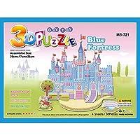 Shenghe 子供3Dパズル漫画ビルディングブロックキッズキャッスルガーデンタウンジグソーパズルボーイズ女の子教育玩具アセンブリゲームクリスマスギフト 721