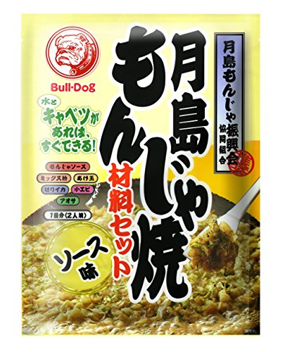 ブルドックソース 月島もんじゃ焼 ソース味 81.3g