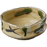 山下工芸(Yamasita craft) 黄瀬戸風 オリベ刺身鉢 13.5×13.5×5.8cm 11018270