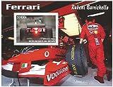 2003 /ベナン - 1スタンプコレクターのためのRuebensバリチェロフェラーリモータースポーツスタンプシート