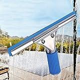 水切りワイパー スクイジー ガラス窓掃除プロ用ツール 掻きながら水を噴霧する 窓/壁/鏡/地面/天井/シャワー室