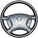 Wheelskinsフォルクスワーゲン純正レザーステアリングホイールブラックcover-size AXX