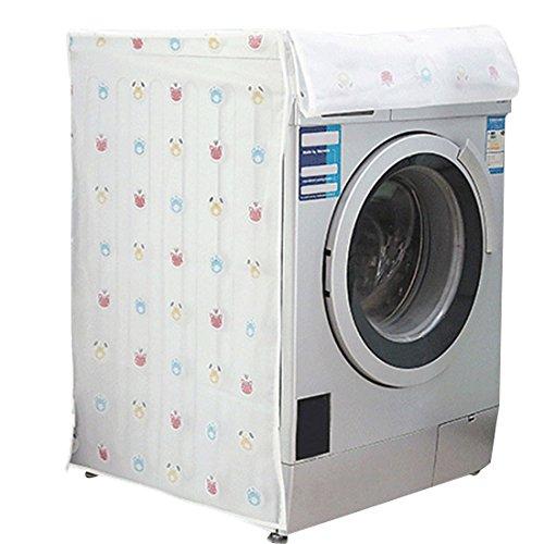 [Enerhu]洗濯機カバー ドラム式 厚い 防水防塵 洗える #1