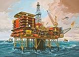 ドイツレベル 1/200 Oilrig 海底油田 プラモデル