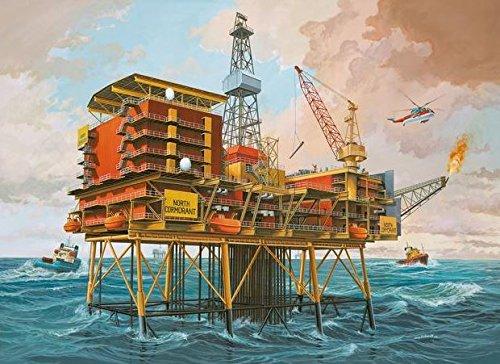ドイツレベル 1/200 Oilrig 海底油田