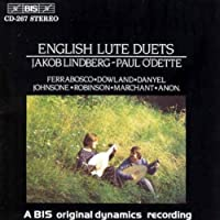 English Lute Duets by Jakob Lindberg (1994-09-22)