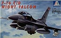 F-16C Night Falcon 1/72 Model Airplane Italeri by Italeri