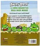 Angry birds. Il libro magnetico degli avidi maiali. Con magneti
