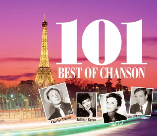 ベスト オブ シャンソン CD4枚組 4CD-324
