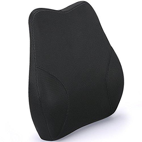 LITTLE TREE2018最新版低反発クッション背あてクッション腰痛対策 シートクッション 長距離ドライブを快適に カバー取り外し可