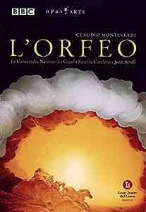 Monteverdi: L'Orfeo(2002 Barcelona Liceu Opera) [DVD]