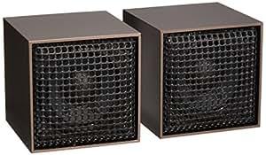 超小型高音質オーディオスピーカーTINYCUBEガンメタリック SP-02GU