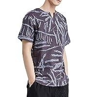 WEEN CHARM T-シャツ 半袖 メンズ カットソー 花柄 模様 夏 summer カジュアル アウター アウトドア ファッション 格好良く ゆったり 男性 サマー おしゃれ 出かけ