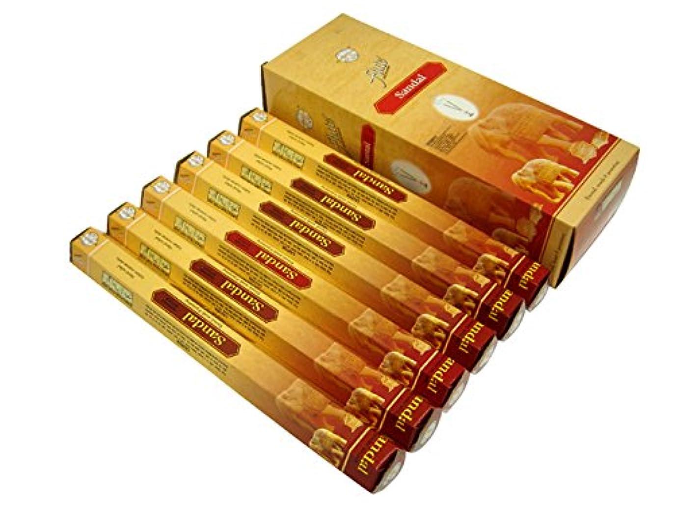 対処提出する木製FLUTE(フルート) サンダル香 スティック SANDAL 6箱セット