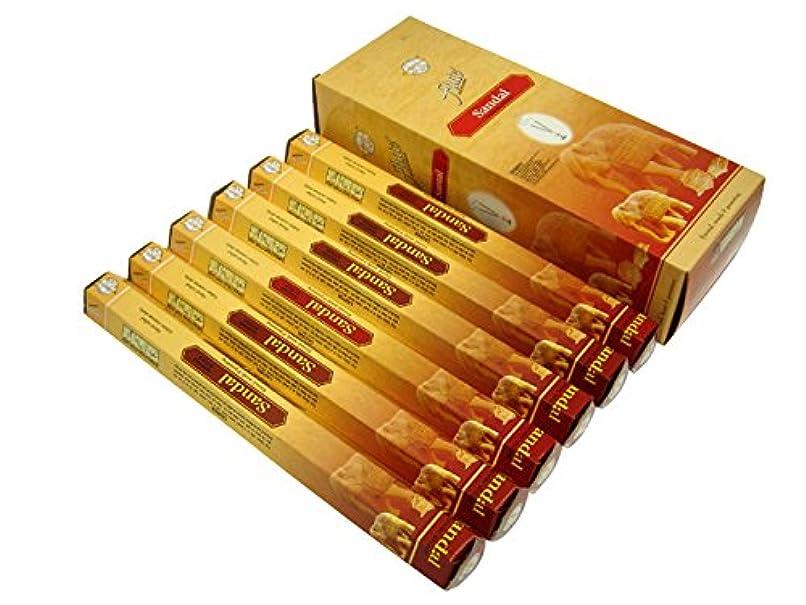 遺伝的プレミアム無駄なFLUTE(フルート) サンダル香 スティック SANDAL 6箱セット
