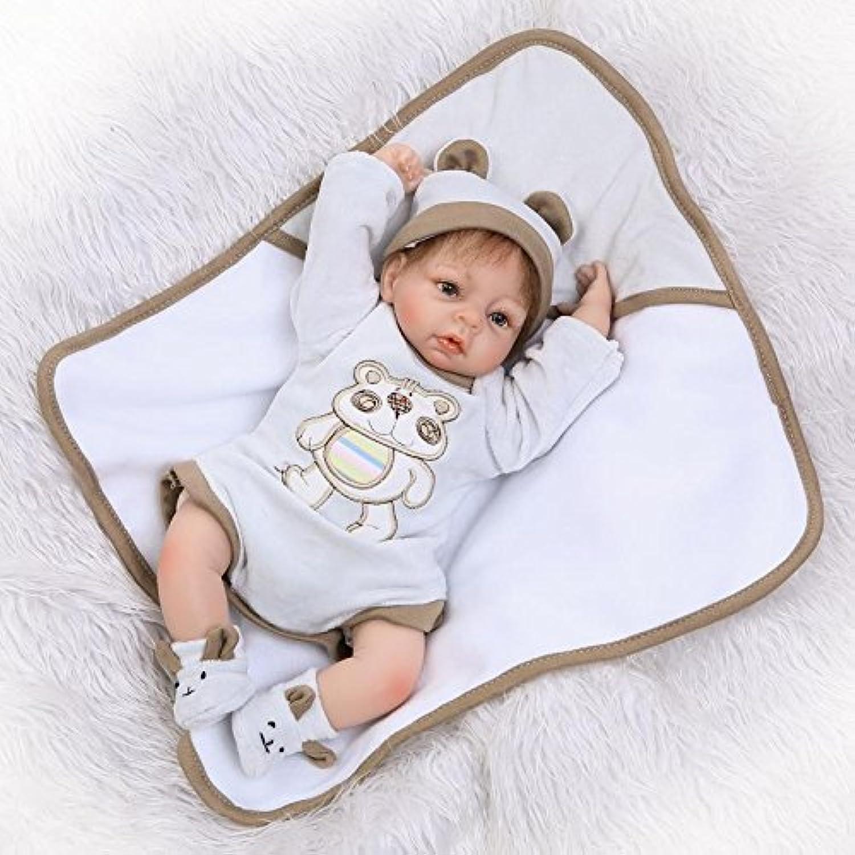 ピンキー17インチ43 cm Lifelike Realistic Lookingソフトビニールシリコン赤ちゃんLovely人形Reborn Baby Boyクリスマスギフト誕生日プレゼント