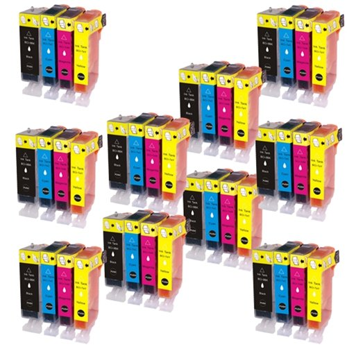 インク 【互換インク】 キャノン canon キヤノン BCI-7e 9 4MP 4色セット×10 pixus MP520 MP510 MP500 iP3300 iX5000 カートリッジ プリンターインク 汎用インク インクカートリッジ 純正 汎用