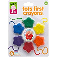 Alex Toys Alex Jr。Tots Firstクレヨン 1848S