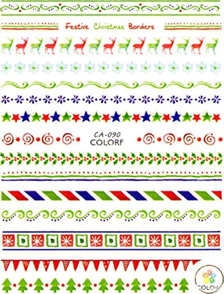甘いエッセイスリム極薄 ネイルシール クリスマス スノー サンタ デコやレジン、アルバム制作などに (07-C55)