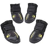 ティンバーランド ブーツ Sweet Candy 防水犬の靴ノンスリップ犬の雪のブーツ4Pcsの異なるサイズのための