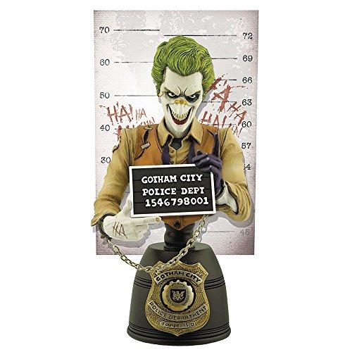 DCコミックス 逮捕記録ショット #02ジョーカー 高さ約17センチ レジン製 塗装済みミニバストの詳細を見る