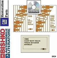 1988シボレーGMC 10–35ピックアップトラックショップサービス修復手動CDエンジン配線