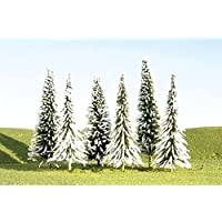 Bachmann Trains inches 4 inches Pine Trees with Snow 9 Per Box [並行輸入品]