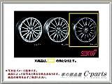スバル レヴォーグ【VM4 VMG】 STIアルミホイール(18インチ)(4本)【ブラック】[SG217VA120×4]