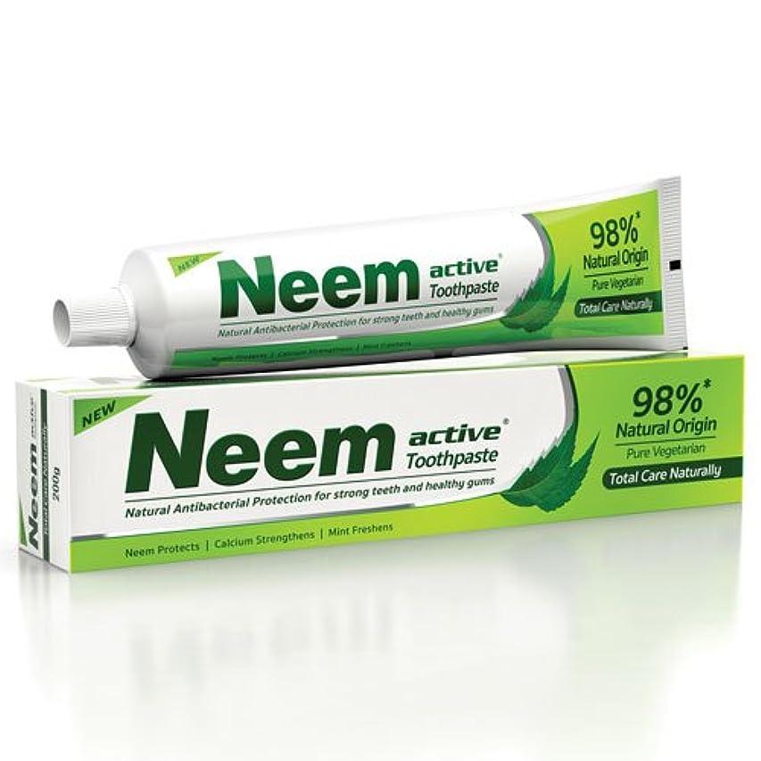 サーキットに行く踏みつけスラムNeem Active Toothpaste (Natural Protection for Strong Teeth & Healthy Gums) by Henkel