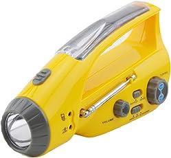 緊急ラジオライト 懐中電灯 手回し充電 ソーラー充電 USB充電 多機能 災害用 非常用