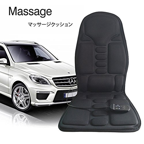 マッサージシート カーシート 高品質車載クッション 伸縮スト...