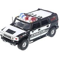 JADA-53549 HEAT HUMMER H2 SUV K-9 POLICE CAR # 616 1/24 [並行輸入品]