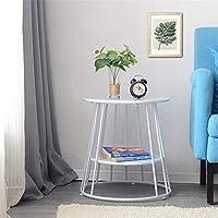 コーヒーテーブルモダンなティーテーブルダイニング - テーブルミニバー - テーブルシンプルなヨーロッパスタイルのリビングルームバルコニー家とオフィス,white,small