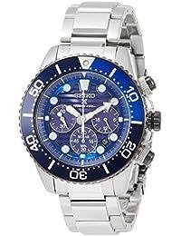 [プロスペックス]PROSPEX 腕時計 PROSPEX Save the Oceanモデル ソーラークロノグラフダイバーズ 青文字盤 SBDL055 メンズ