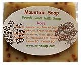 【Mountain Soap】マウンテンソープ 絞りたてフレッシュゴートミルクソープ ローズ
