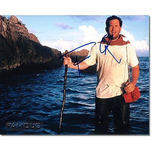 トム・ハンクス (キャスト・アウェイ) 直筆サイン入り写真