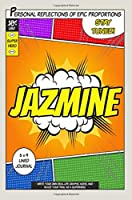 Superhero Jazmine Journal: Lined Journal