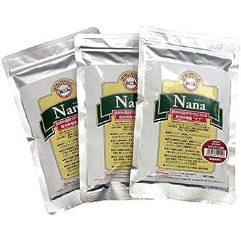 総合栄養食 ナナ(Nana) レギュラー小粒 お試しサイズ100g×3袋セット(代謝エネルギー320kcal / 100g)一般の成犬(小型犬)用 ラム&ライス 原料に小麦は使用していません 糞臭軽減 [ドックフード]