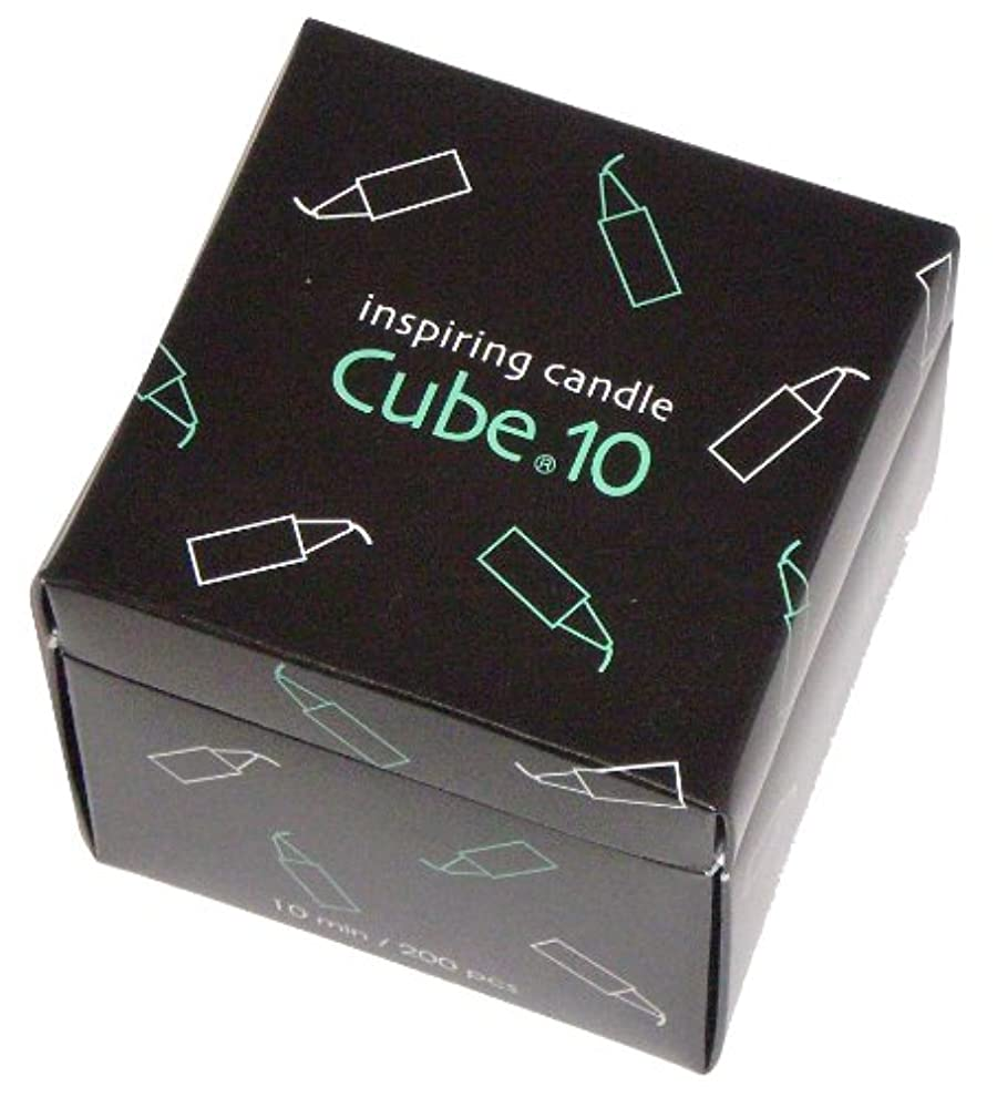 ハンディスタウトラジエーター東海製蝋のろうそく Cube.10 200本入 10分
