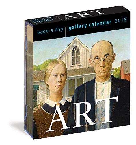Art Gallery 2018 Calendar-