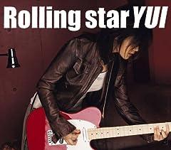 YUI「Rolling star」のCDジャケット