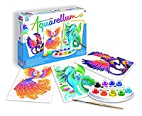 SentoSphere Aquarellum - Mythical Animals - Arts and Crafts Watercolor Paint Set by SentoSphere by Sentosphere